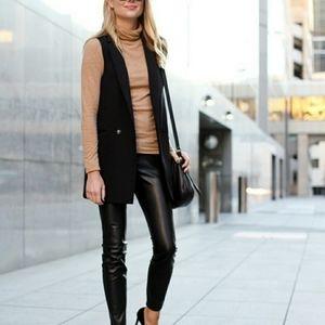 BANANA REPUBLIC  | Long Sleeveless Blazer Vest 8 M